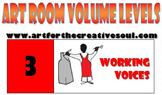 Art Room Volume Level Poster