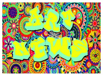 Art Room or Classroom Bulletin Board or table signs Graffiti/Monument theme