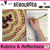 Art Rubrics. Self Reflections. Peer Evaluations for the Art Classroom. Grade 3-8