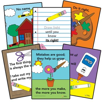 Art Rules Poster - Draw Light Until You Know Its Right - Elementary Arts