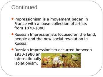 Art-Russian Impressionism