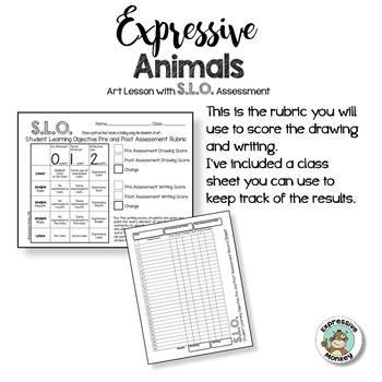 Art SLO Lesson: Expressive Animals