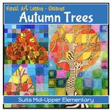 AUTUMN TREES - SEASONS SERIES comprehensive visual art les