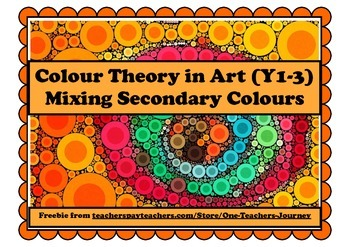 Art: Secondary Colour Mixing FREEBIE