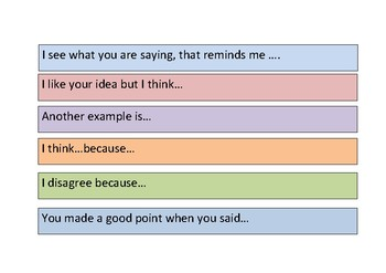 Art Sentence Starters