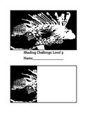 Art Shading Challenge Lessons:  Printables for Beginners -