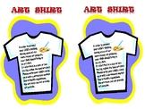 Art Shirt Notice
