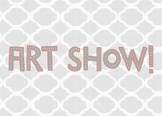 Art Show Sign