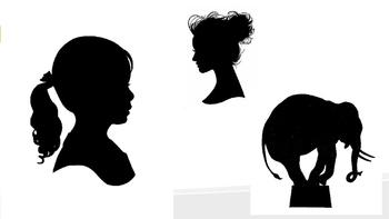 Art Silhouette portraits