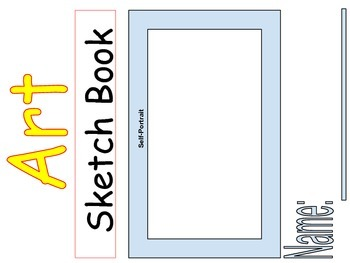 Art Sketch Book Cover