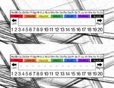 Art Sketch Desk Name Tags and Labeling Set