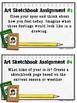 Art Sketchbook Prompts