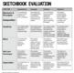 Art - Sketchbook rubric - for high school