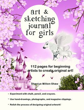 Art & Sketching Journal for Girls