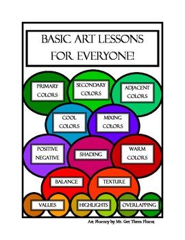 Early Finisher Art Skills Mini Lessons