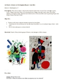 Art Smart: A lesson on Overlapping Shapes – Joan Miro