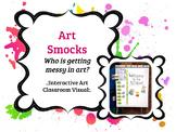 Art Smocks Interactive Display