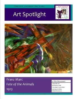 Art Spotlight: Franz Marc's Fate of the Animals
