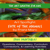 Art Spotlight: Franz Marc's Fate of the Animals