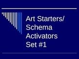 Art Starters/ Schema Activators Set 1
