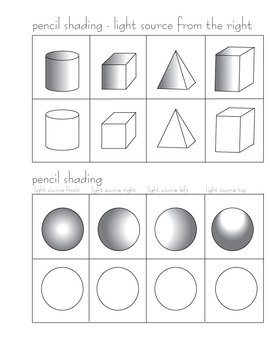 pencil shading activity by penny markowitz teachers pay teachers. Black Bedroom Furniture Sets. Home Design Ideas