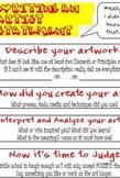 Art Statement/Critique-Middle School