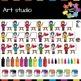 Art Studio Clips [Back to School]