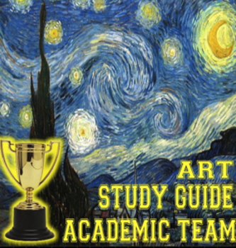 Art Study guide for Academic Team