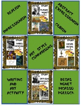 Writing and Art Activity:  A Reflective Comparison about A