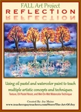 Art Sub Lesson:  Fall Reflection Project