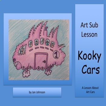 Art Sub Lesson - Kooky Cars