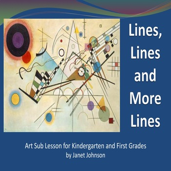 Back to School - Art Lesson - Lines, Lines and More Lines