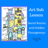 Distance Learning - Middle and Elementary Art - Secret Rooms Hidden Passageways