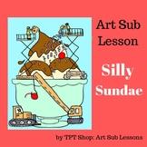 Art Sub Lesson: Silly Sundae - Creative Drawing Activity