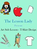 Art Sub Lesson - T-Shirt Design Project