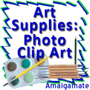 Art Supplies: 8 Piece Photo Clip Art