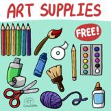 Art Supplies Clip Art