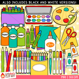 Art Supplies Clipart