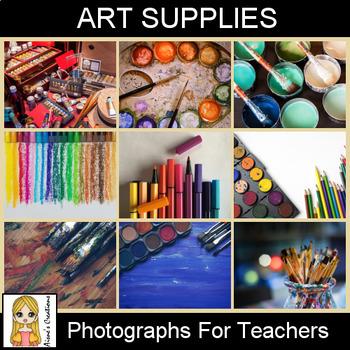 Art Supplies Photograph Pack