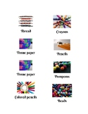 Art Supplies (picture label pack)
