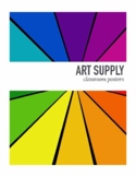 Art Supply Labels for your classroom.