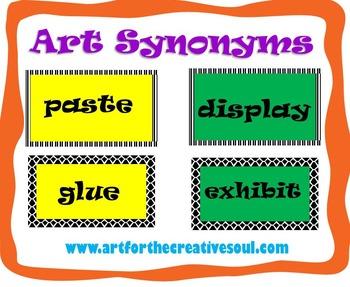 Art Synonyms Set