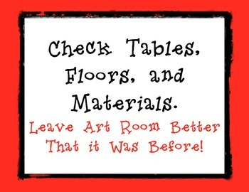 Art Table Jobs Red Border