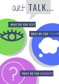 Art Talk Mini Poster