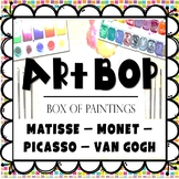 Art Task Cards - Matisse - Monet - Picasso - Van Gogh -200