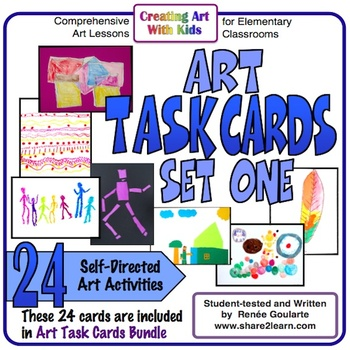 Art Task Cards Set 1