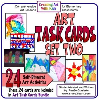Art Task Cards - Set 2