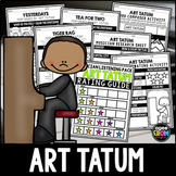 Art Tatum Listening Activities (Special Musician Edition!)  October, Jazz