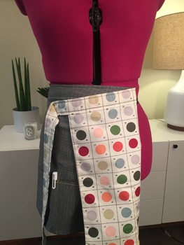 Classroom Teacher Utility Apron: Art Teacher Pantone