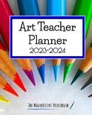Art Teacher Planner 2020-2021